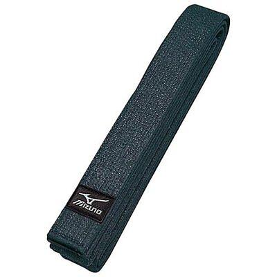 MIZUNO 22JV5A1509 Judo gi Kuro Obi Black Belt Twill IJF Official Patch 5.5 -