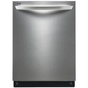 """LG LDF7551ST (Brand new) 24"""" FULLY INTEGRATED DISHWASHER WITH FLEXIBLE EASYRACK™ PLUS SYSTEM"""