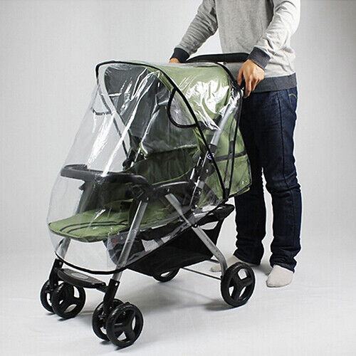 Universal Waterproof Wind Dust Shield Baby Stroller Pushchair Pram Rain Covers