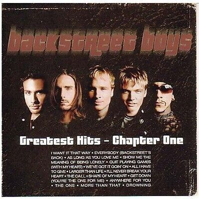 Backstreet Boys   Greatest Hits  Chapter One  New Cd  Uk   Import