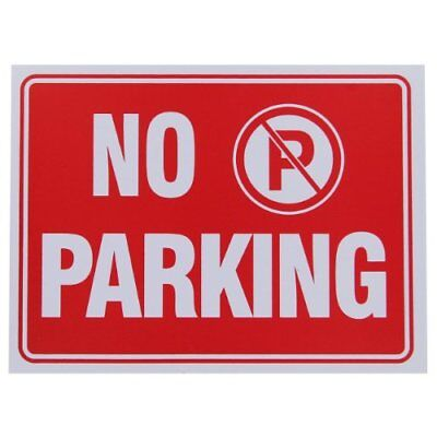 No Parking Sign 9 X 12 Inch - 4 Pack New Quality Value Pack Do Not Park Garage