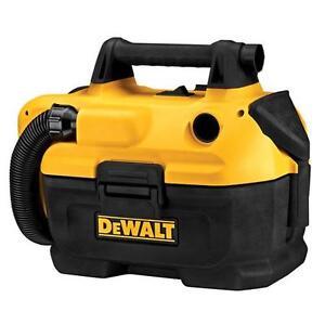 DEWALT DCV580r Aspirateur sans fil pour dégâts secs ou liquides 18V/20V MAX
