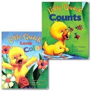 Little-Quack-2-Books-collection-Little-Quack-Loves-Colors-Little-Quack-Counts