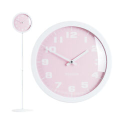 Modern Stand Floor Clock Home Decor Interior Separate Stand Clock - Pastel(Pink)