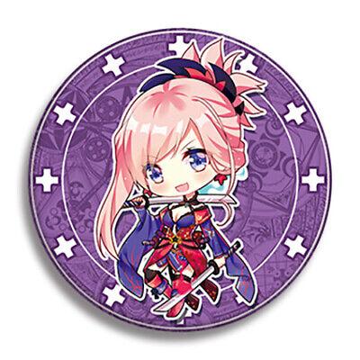Order Metal - Fate Grand Order FGO Musashi Miyamoto Saber Metal Pins Badge Buttons
