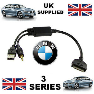 Genuine BMW 3 Series (611204407) iPhone iPod USB & Aux Cable replacement