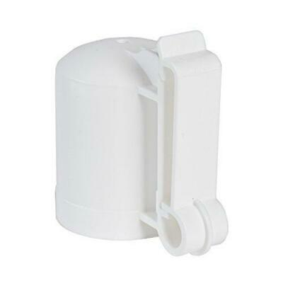 Zareba Itcpw-z T-post Safety Cap And Insulator 10 Per Bagwhite