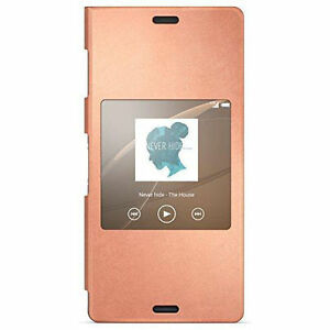 SONY-Style-Cover-SCR24-for-Xperia-Z3-smart-window-function West Island Greater Montréal image 1