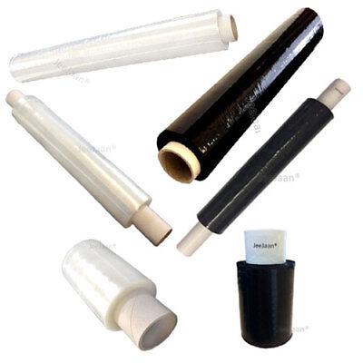 Full Range Pallet Wrap Shrink Wrapper Stretch Film Clear Black Mini Handy Wrap