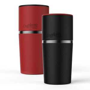 Cafflano Klassic Red All In One Coffee Maker