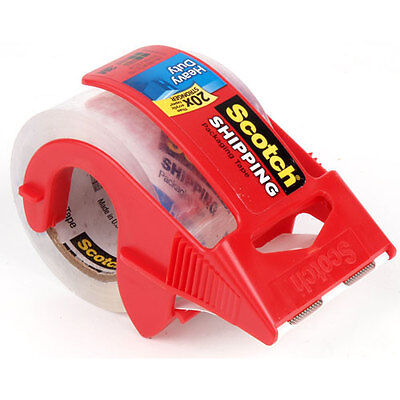 Scotch Shipping Packing Tape Dispenser 3m 1.88 X 100027.7yardsheavy Duty-3