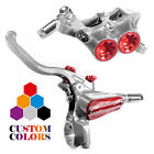 Hope Silver Disc Brakes-Hydraulic Bicycle Brakes