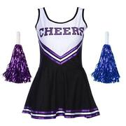Black Cheerleading Uniform