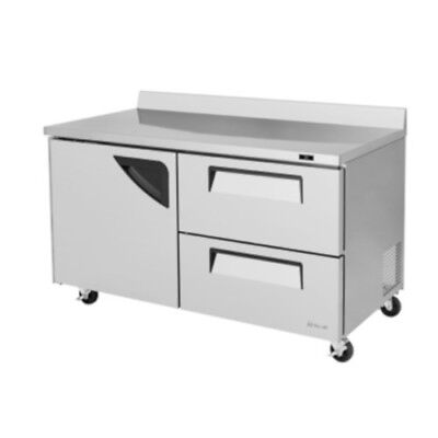 Turbo Air Twr-60sd-d2-n 60 Worktop Refrigerator W Two Drawers Twr-60sd-d2