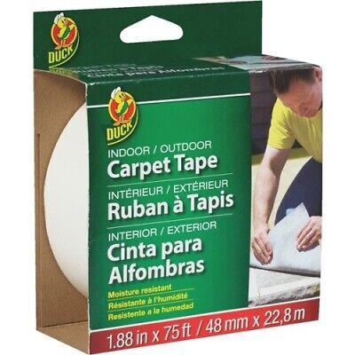 Duck Brand 286372 Indooroutdoor Carpet Tape 1.88-inch X 75 Feet Single Roll