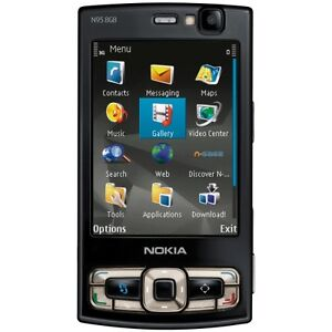NOKIA N95 8GB 3G WIFI GPS 5MP PHONE BLACK