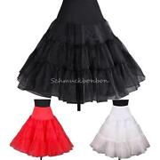 Petticoat Unterrock Rot