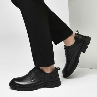 Details about  /Big Size 38-47 Mens Leather Low Top Evening Party Casual Shoes Leisures Business