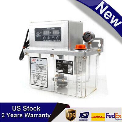 25w 110v 4l Lubrication Pump Electric Automatic Lubrication Pump Machine Tool Us