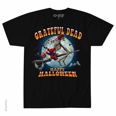 Grateful Dead Halloween Shirt (New GRATEFUL DEAD WICKED BERTHA HALLOWEEN LICENSED BAND  T Shirt )