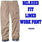 Flannel Lined Pants
