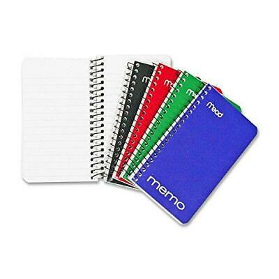 Mead Small Spiral Notebook Spiral Memo Pad College Ruled Paper 60 Sheets 5
