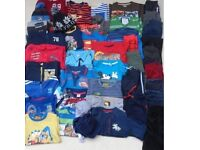 HUGE BUNDLE BOY WINTER CLOTHES 4-5 years 48+ items
