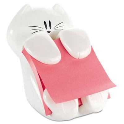 Post-it Notes Cat Dispenser - 3 X 3 - White Cat330