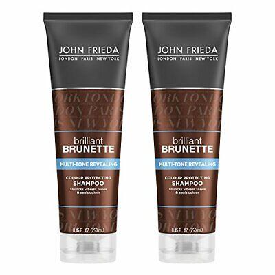 John Frieda Brilliant Brunette Multi-tone Revealing Moisture Shampoo (Pack of (John Frieda Brilliant Brunette Multi Tone Revealing Shampoo)
