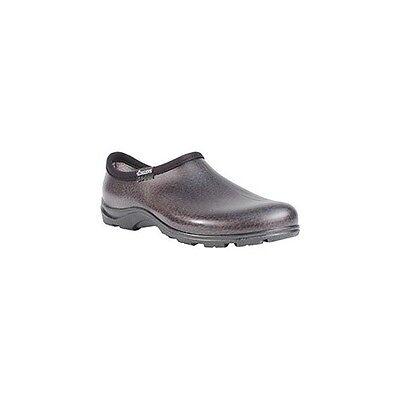 Sloggers Mens Leather Rain & Garden Shoe, No. 5301BK11
