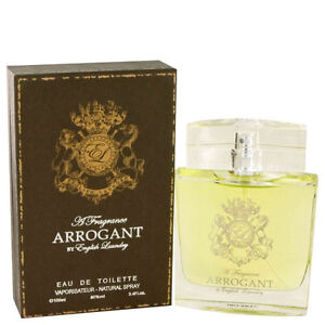 Arrogant for Men by English Laundry 3.4 oz EDT Brand New