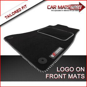 AUDI A4 S LINE 08-ON Tailored Car Floor Mats Velour Carpet ...