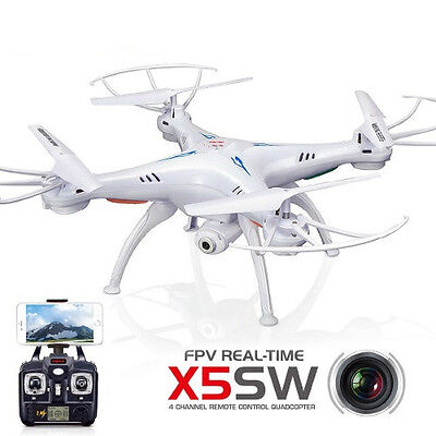 Usa X5sw  1 Wifi Fpv Camera Drone 2 4Ghz 4Ch Rc With 2Mp Quadcopter  Battery New