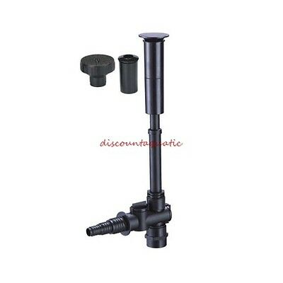 Jebao FT-04 Pond Fountain Nozzle Head Kit Comes with 2 nozzles 3 tier spray 2 Fountain Nozzles
