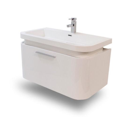Bathroom sink unit ebay for Bathroom sink and toilet units