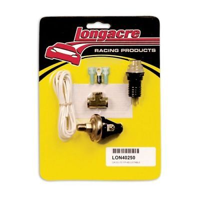 Longacre 52 40250 Clear Fuel Pressure Gagelites Warning Light Kit  2 7Psi