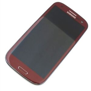 Samsung S3 SIII Like New Mint Condition Rare Garnet Red Model