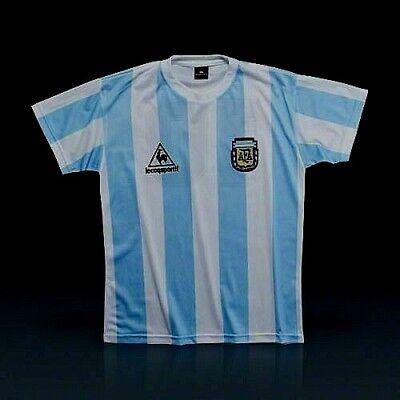NEW!!! ARGENTINA VINTAGE SOCCER JERSEY 1986