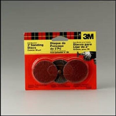 3m 2 Sanding Disc 36 Grit Pack Of 3 Each For Drill Mount