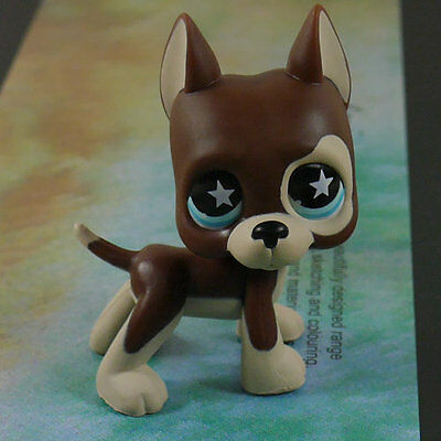 LPS COLLECTION LITTLEST PET SHOP Great Dane DOG RARE TOY 2""