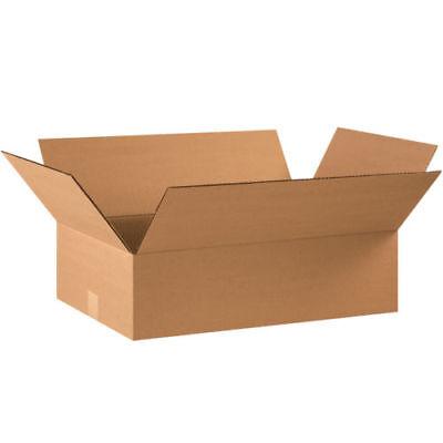 20 - 24 X 12 X 6 Cardboard Shipping Boxes Flat Corrugated Cartons