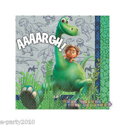 THE GOOD DINOSAUR SMALL NAPKINS (16) ~ Birthday Party Supplies Beverage -