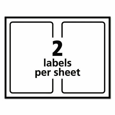 Shipping Labels With Trueblock Technology Laser 5 12 X 8 12 White 200box