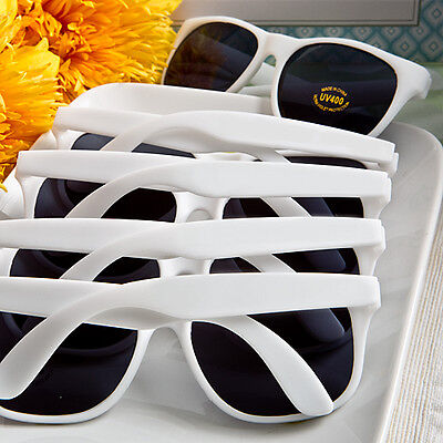 40 White Sunglasses Bridal Shower Outdoor Wedding Party Favors](Outdoor Bridal Shower)