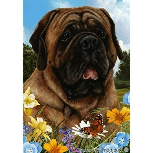 Summer Garden Flag - Red Mastiff 182761