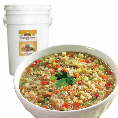 VEGETABLE STEW BLEND  Emergency Survival Freeze Dried Food 388 servings bucket