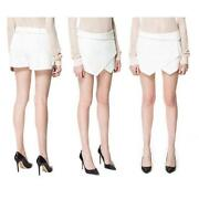 Womens White Shorts