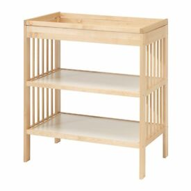 GULLIVER changing table (birch)