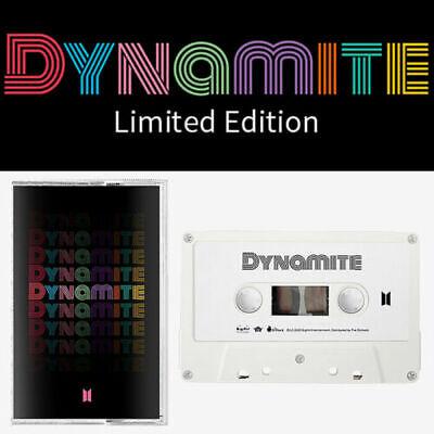 BTS [DYNAMITE] Cassette Limited Edition / Cassette Tape+GIFT K-POP SEALED