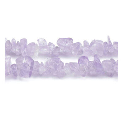 Long Strand 240+ Lilac Cape Amethyst 5-8mm Chip Beads GS5202